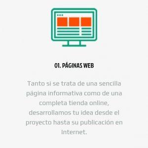 01. Desarrollo de páginas web