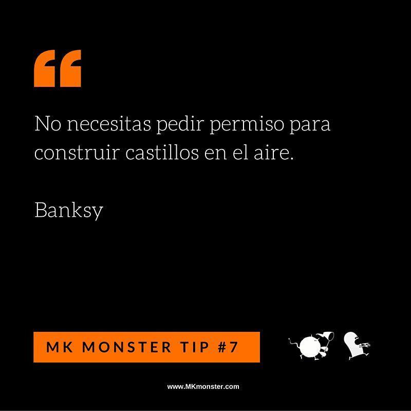No dejes de soñar - Banksy