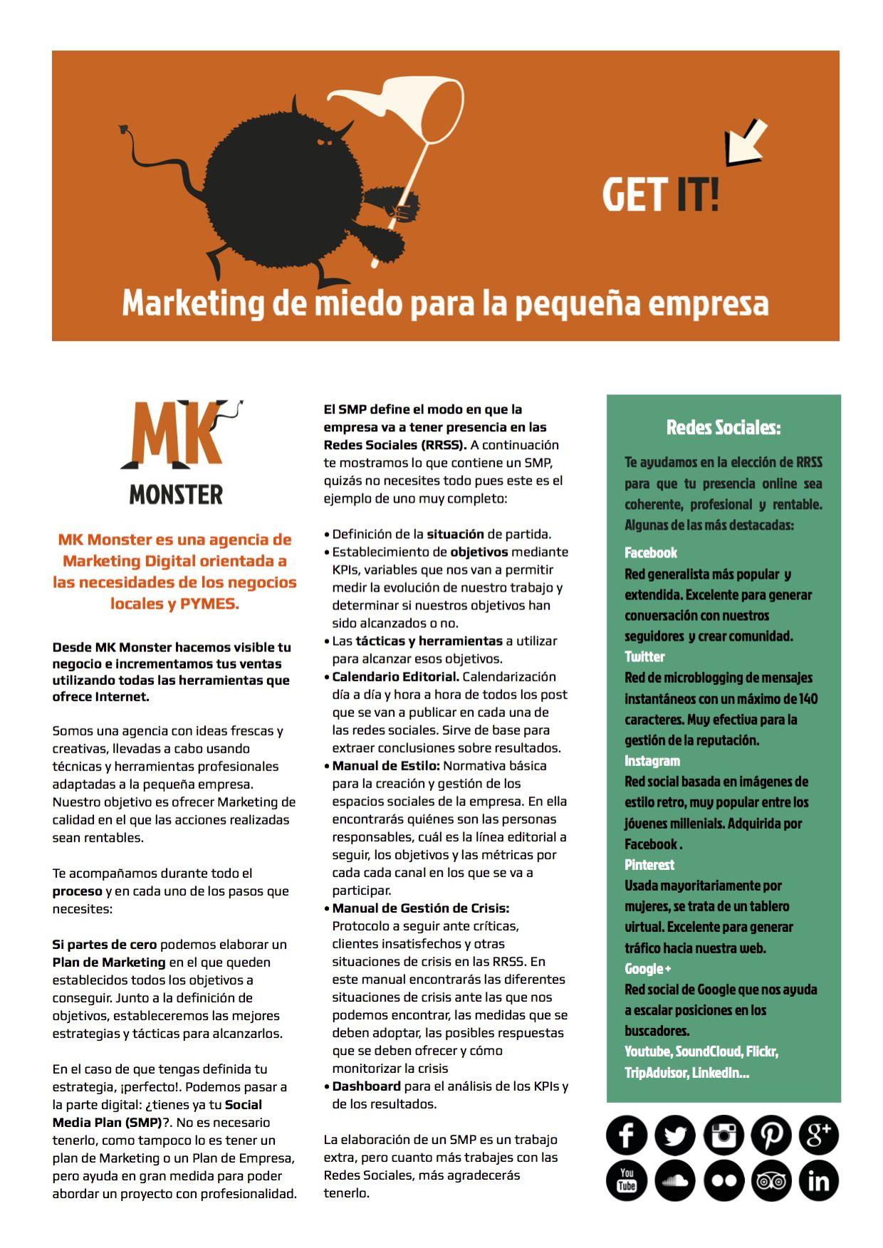 MK Monster | Marketing de miedo | Catálogo de servicios p1