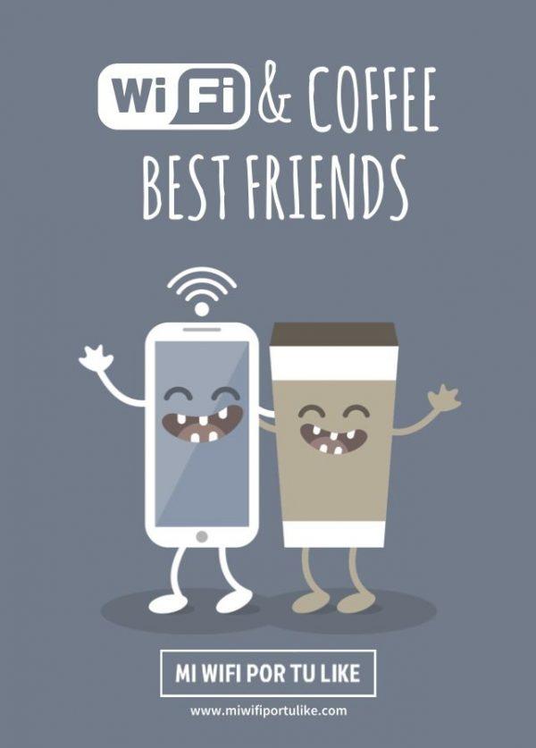 Mi wifi por tu like - Wifi Social